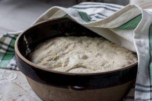 no cling film for dough