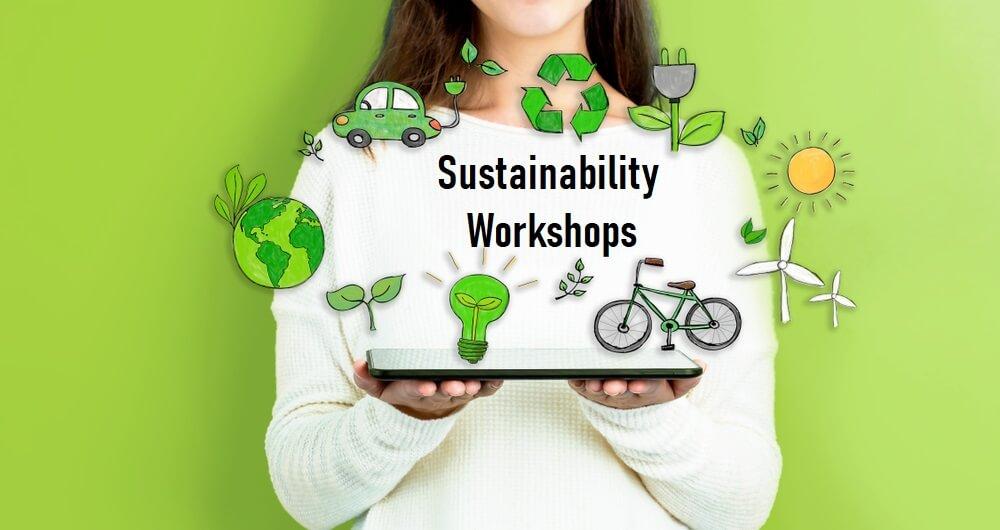 Sustainable living workshops